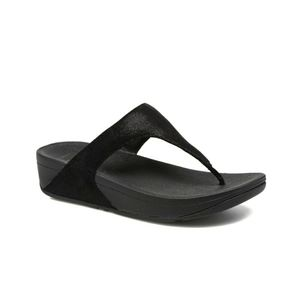 FitFlop Shimmy Suede Toe Thong Sandal NWT
